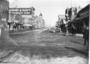 Moose Jaw Main Street by day